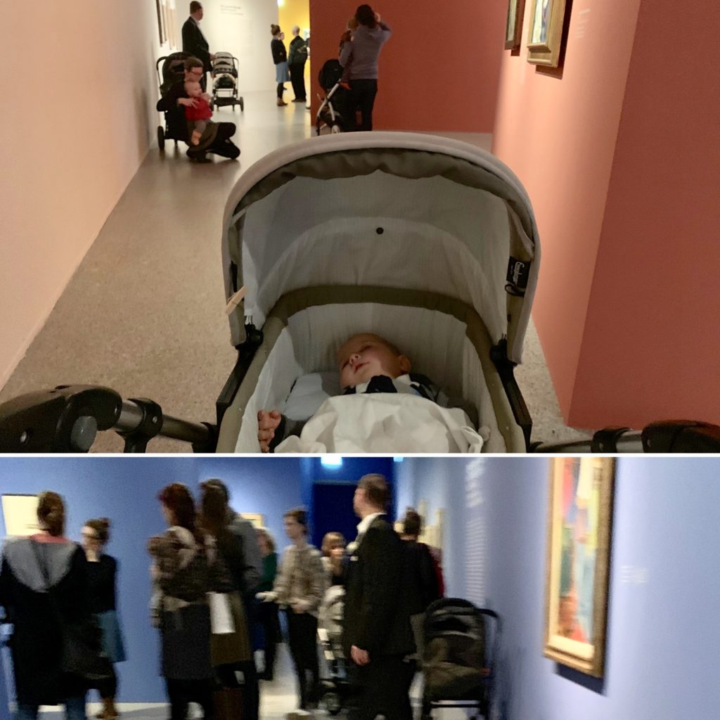 Mit Baby ins Museum