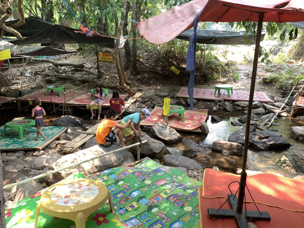 Chiang Mai mit Kindern: Flussrestaurant